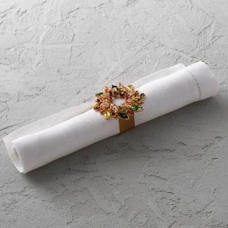 Kim Seybert Gem Wreath Napkin Rings