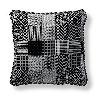 Graphic Patch Indoor/Outdoor Pillow