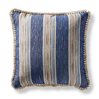 Sunja Stripe Square Outdoor Pillow