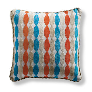 Trovata Square Outdoor Pillow in Melon