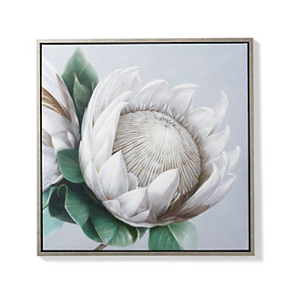 Protea Handpainted Oil on Canvas