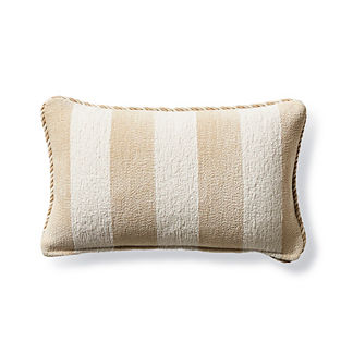 Caicos Stripe Lumbar Indoor/Outdoor Pillow