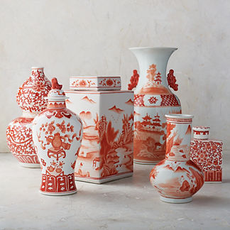 Coral Ming Small Ceramic Collection