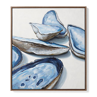 Oyster Handpainted Oil on Canvas I
