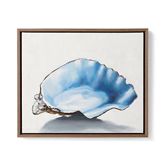 Oyster Handpainted Oil on Canvas III