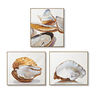 Oyster Handpainted Oil on Canvas