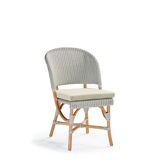 Brighton Dining Side Chair/Bar Stool Replacement Cushion in Performance Porcelain