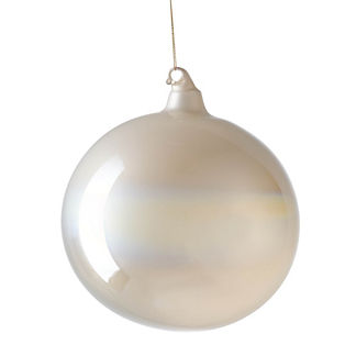 Large Whistler Bliss Pearlized Ornament