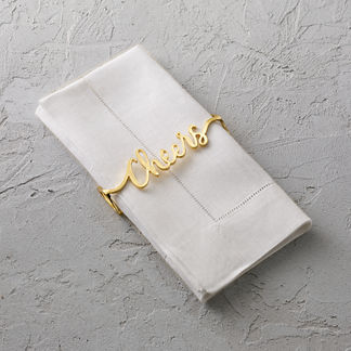 Cheers Napkin Wraps, Set of Four
