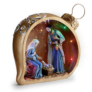 LED Holy Family Ornament