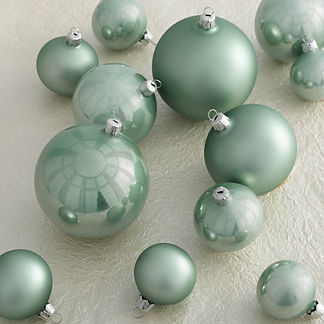 Bauble Accent Ornaments, Set of 12