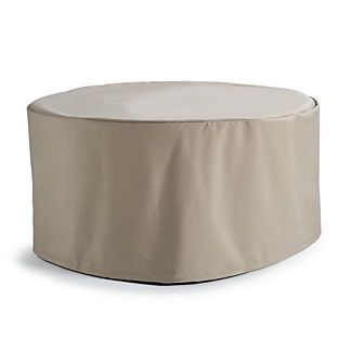 Round Top Custom Gas Fire Table Cover