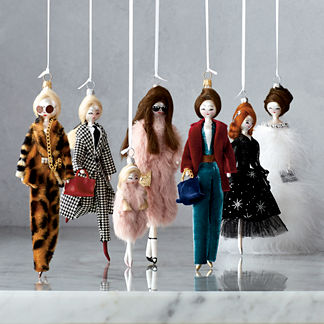 Runway Ornament Collection