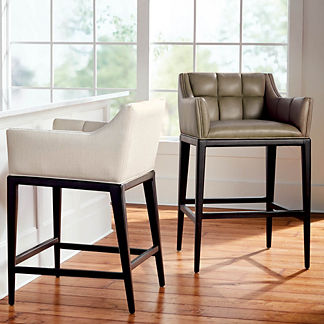 Gramercy Bar & Counter Stool with Arms in Dark Espresso, Special Order