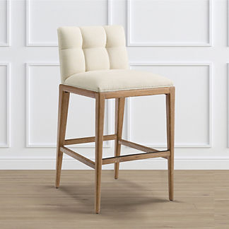 Gramercy Bar Stool in Weathered Oak (30