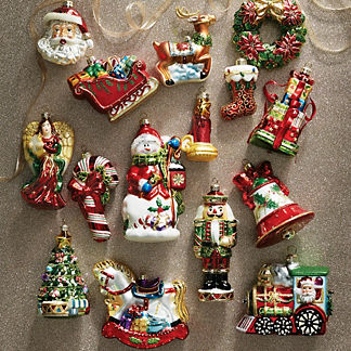Iconic Ornament Collection, Set of 15