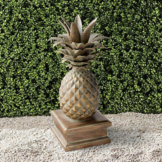 St. Simon Pineapple Statue