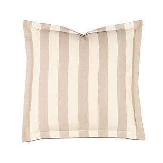 Bramble Striped Euro Sham by Eastern Accents