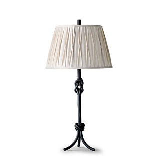 Keeley Table Lamp with Pintuck Shade