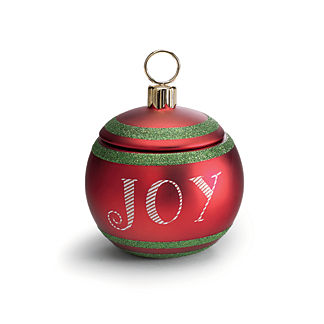 French Bee Joy Christmas Ornament Candle