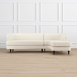 Milly Right-facing Chaise Sectional, Special Order