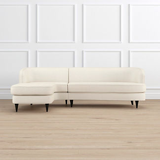Milly Left-facing Chaise Sectional, Special Order