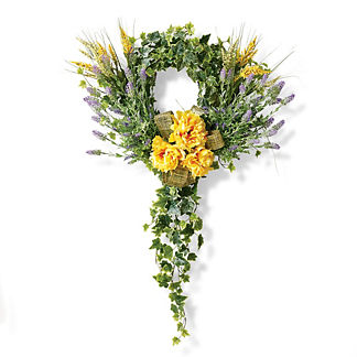 Floral Ivy Wreath
