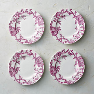 Caskata Arcadia Salad Plates, Set of Four