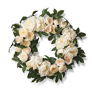 Cream Rose and Foliage 28