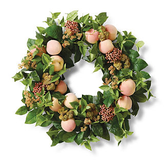 Perfectly Peachy Wreath