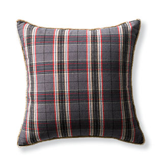 Telluride Plaid Decorative Pillow Cover
