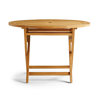 Cafe Teak Folding Table