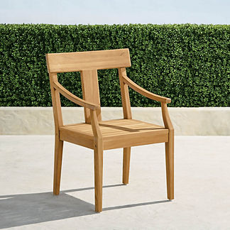 Kingston Dining Arm Chairs, Set of Two