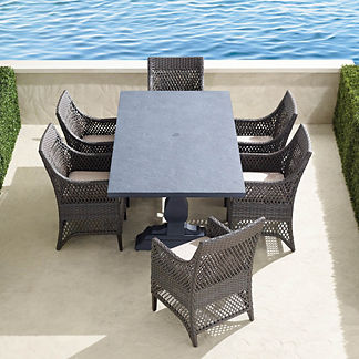 Graham 7-pc. Rectangle Dining Set