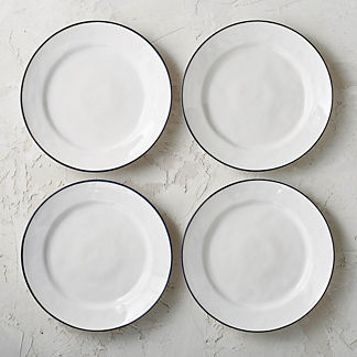 Costa Nova Beja Dinner Plates, Set of Four