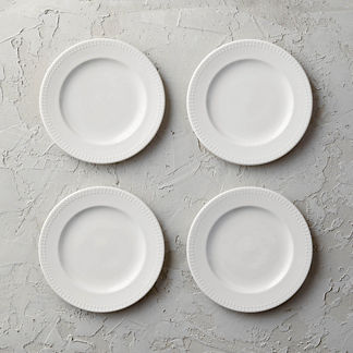 Eva Salad Plates, Set of Four