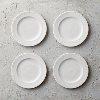 Eva Salad Plates, Set of Four