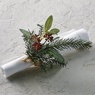Stonington Napkin Rings, Set of Four