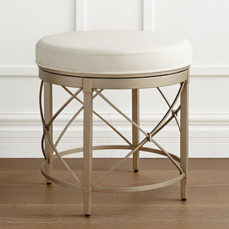 Jules Swivel Vanity Stool