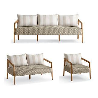 Santa Clara 3-Pc. Sofa Set