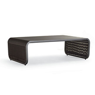 St. Kitts Aluminum Coffee Table