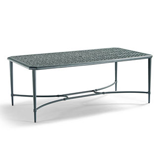 Tourelle Outdoor Dining Table in Gray Olive Finish