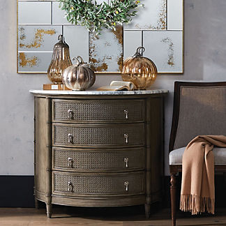 Marion Demilune 4-drawer Chest