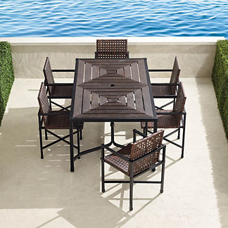 Augustine 7-pc. Rectangle Dining Set