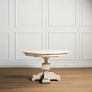 Alden Expandable Round Dining Table