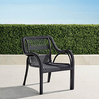 Capella Lounge Chair in Black