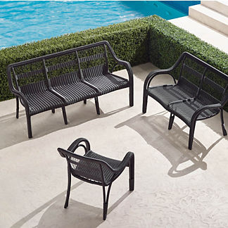 Capella 3-pc. Sofa Set in Black