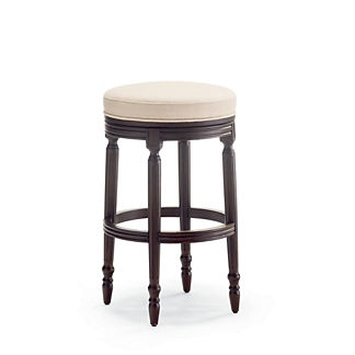 Savoy Swivel Backless Bar Stool
