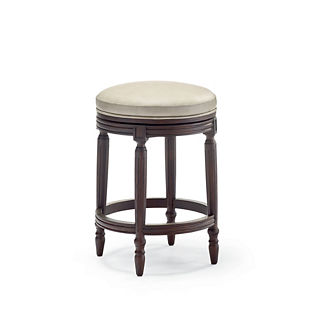 Savoy Swivel Backless Counter Stool