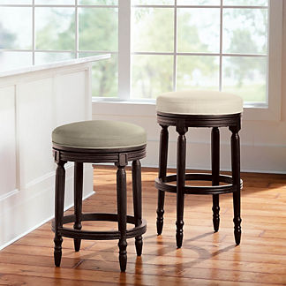 Savoy Backless Swivel Bar & Counter Stool